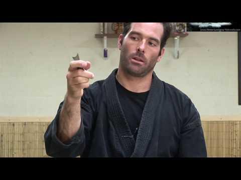 "Ninjutsu Bujinkan ""Throwing Stars"" - Ninja Stars - Senban Shuriken - Black Belt Techniques"