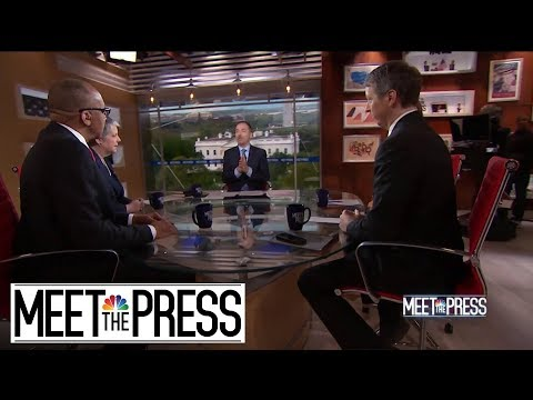 Full Panel: Democratic Divide As Biden Climbs In Polls And Sanders Falls | Meet The Press | NBC News
