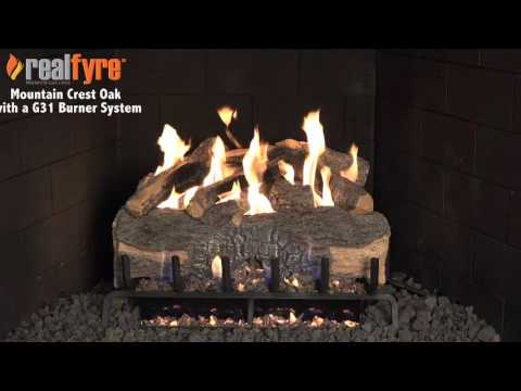 Peterson Real Fyre Mountain Crest Oak Logs
