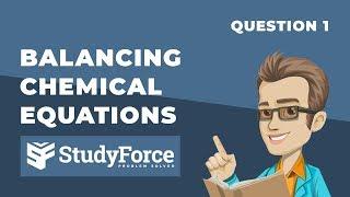 ⚗️ Balancing Chemical Equations (Question 1)