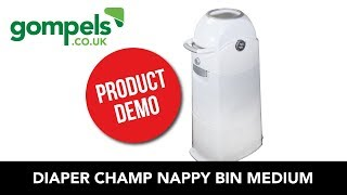 Product Demo - Diaper Champ Nappy Bin Medium