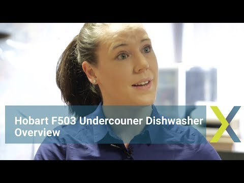 Hobart Ecomax Plus F503 Undercounter Dishwasher Overview
