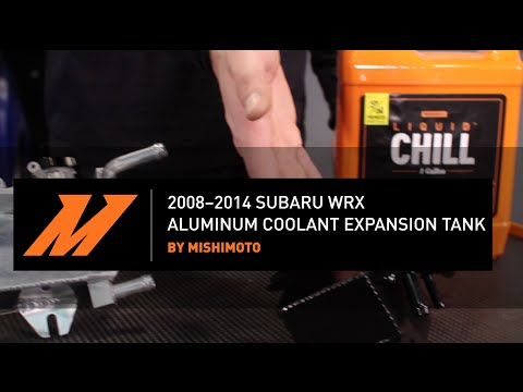 2008–2014 Subaru WRX Aluminum Coolant Expansion Tank