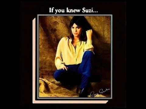"Suzi Quatro "" You can make me want you live """