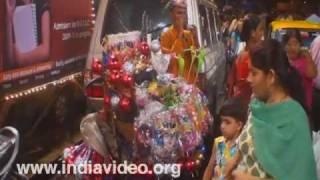 A festive night in Mumbai, Maharashtra