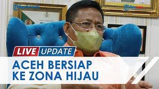 Tingkat Kesembuhan Covid-19 Capai 95 Persen dan Vaksin Dikebut, Banda Aceh Kini Bersiap Zona Hijau