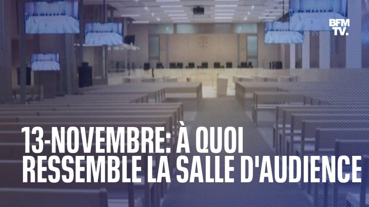 13-Novembre: à quoi ressemble la salle d'audience du palais de justice de Paris ?