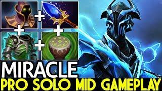 Miracle- [Razor] Pro Solo Mid Gameplay Tanky Build 7.21 Dota 2