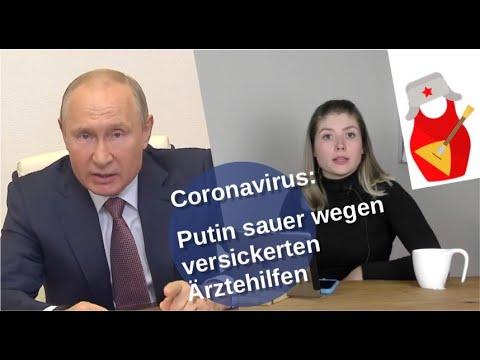 Coronavius: Putin sauer wegen versickerter Ärztehilfe [Video]