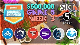 $500,000 🥊Summer Skirmish Tournament NA🥊 Week 3 Game 5 (Fortnite)