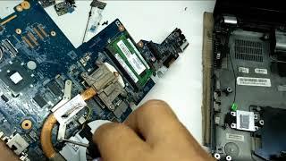How Repair Main Board Hp G42 Blank Screen Laptop
