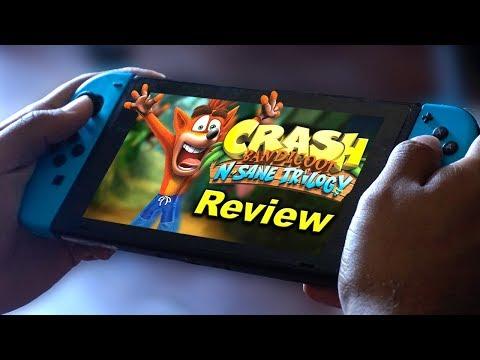 Crash Bandicoot N. Sane Trilogy Nintendo Switch Review video thumbnail