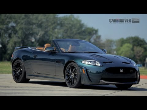 2012 Jaguar XKR-S Convertible Road Test