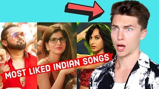 VOCAL COACH Justin Reacts to Top 25 Most Liked Indian Bollywood Songs of All Time on Youtube