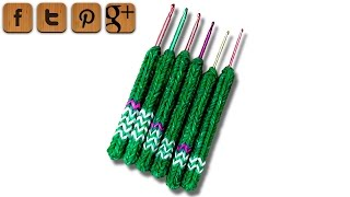 DIY Soft-grip Handle For Crochet Hooks - Dr. Loom - © Woolpedia