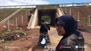 Ruas Tol Pemalang-Batang KM 321 Retak Sepanjang Kurang Lebih 20 Meter