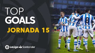 Todos los goles de la Jornada 15 de LaLiga Santander 2019/2020