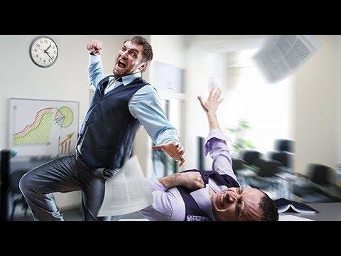 Что грозит за драку на работе?