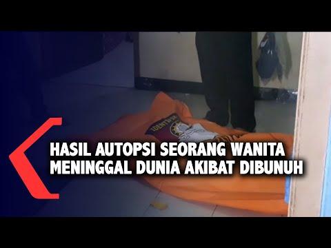 hasil autopsi seorang wanita meninggal akibat dibunuh