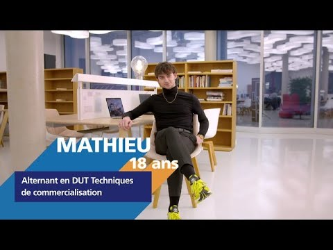 Video #AlternanceEDF - Découvrez Mathieu, alternant en techniques de commercialisation