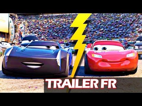 Cars 3 : Jackson Storm clash Flash McQueen