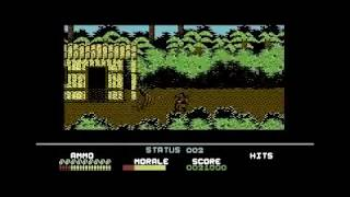 PLATOON C64 COMMODORE 64 CLASSIC RETRO VIDEO GAME WALKTHROUGH GUIDE