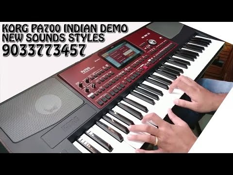 Korg Pa700 New Indian Tones 2019 Edition 91 9033773457 Www