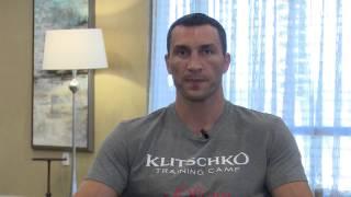 Обращение Владимира Кличко к фанам перед боем с Дженнингсом