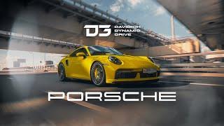 D3 Porsche 911(992) Turbo S Машина которую я боюсь!