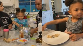 Cooking With Alexis Olympia & Her Father, Alexis Ohanian⭐Serena WIlliams Family 2020 & Daughter