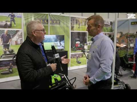 Allett Mowers Launch C34 Evolution at SALTEX 2018
