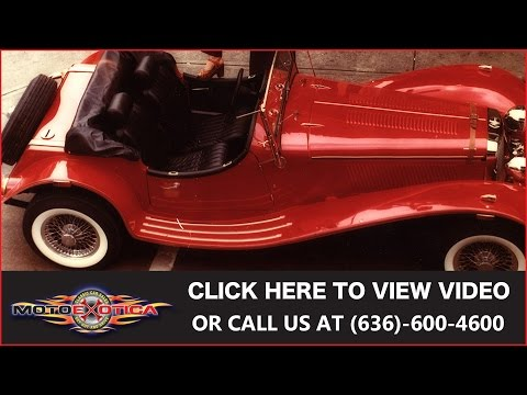 Video of '73 SS100 Roadster - INBM