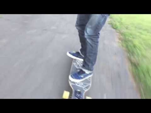 Volador 42 Inch Freeride Longboard Review & Riding