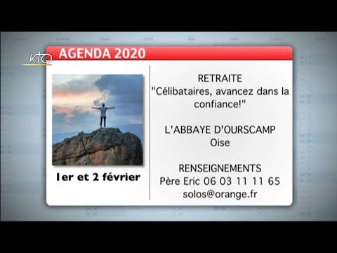 Agenda du 20 janvier 2020