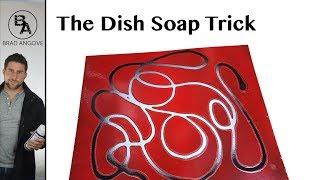 Cool spray can technique | the dishsoap trick
