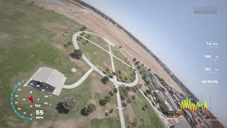 FPV Drone and T-50 High Speed Chase