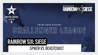 Rainbow Six Esports: North American Challenger League 2020 Play Day 5 - Spiker vs. Beastcoast