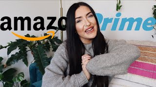 All My AMAZON PRIME Favorites!! || Sarah Belle