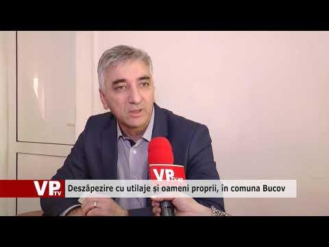 Deszăpezire cu utilaje și oameni proprii, în comuna Bucov