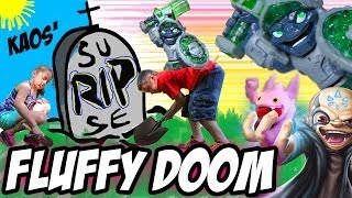 Doom Stone Surprise + Kaos' Fluffy TRAP TEAM USB Mystery Gift + Epic Unboxing: Skylanders Swap Force