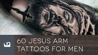 60 Jesus Arm Tattoos For Men