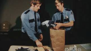 Airport security at Fairbanks (1973)