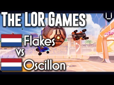 Flakes vs Oscillon | The LOR Games | Rocket League