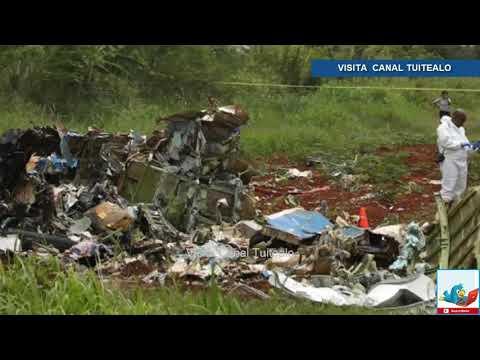 Muere una de las 3 sobrevivientes del avionazo en la Habana Cuba Video Van 108 muertos