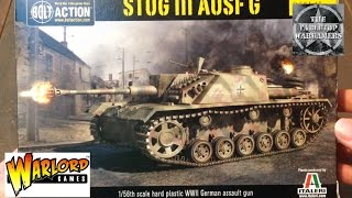 Stug III Unboxing Warlord Games