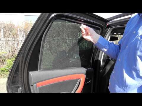 Dacia Duster Sonnenschutz Seitenscheiben und Heckscheibe