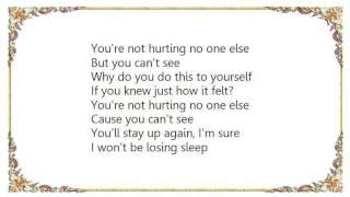Evan Dando - Why Do You Do This to Yourself Lyrics