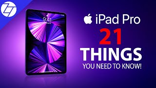 iPad Pro (2021) - 21 Things You NEED to KNOW!