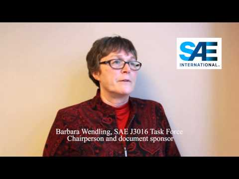 Committee chair Barbara Wendling on SAE standard J3016: on-road vehicle levels of automation