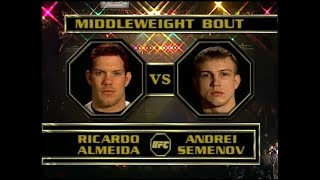 Old School: Андрей Семенов vs Рикардо Альмейда